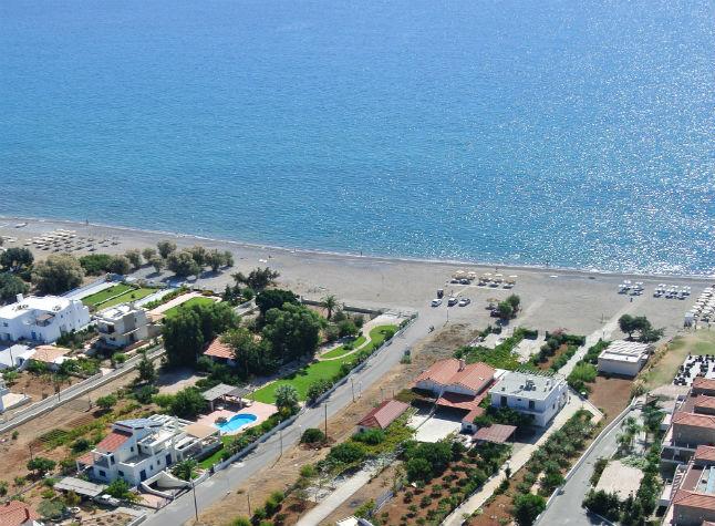 Amaryllis Beach Apartments In Lardos