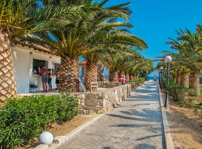 Akti Beach Club, Garden path,25220