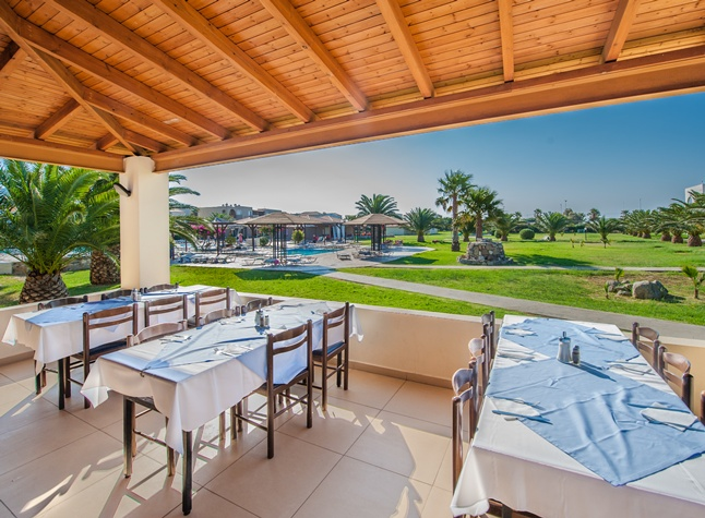 Akti Beach Club, Restaurant area, 25220