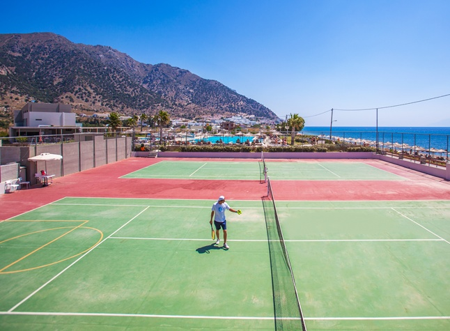 Akti Palace Hotel, Tennis courts, 25234