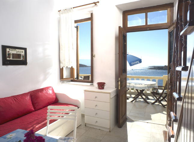 Roulla Studios, Room With Sea View, 14601