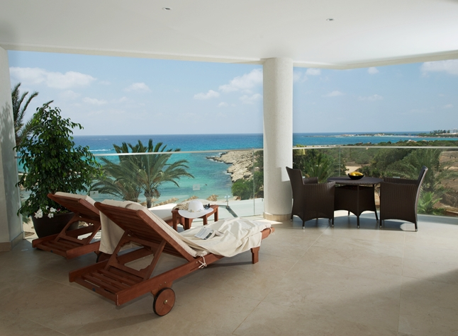 Adams Beach Hotel, Super Deluxe Beach Front Room Balcony, 21357