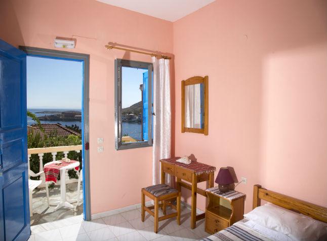 Kaliopi Studios, Room and Balcony Area, 14607