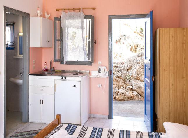 Kaliopi Studios, Kitchen and Living area, 14607
