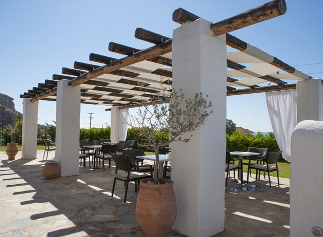 Lindos Sun Hotel, Outdoor seating, 24402
