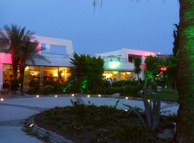 Club Hotel Flora, Exterior at night,3028