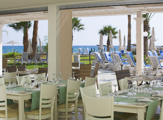 Golden Bay Beach Hotel, Thalassa Restaurant,21502