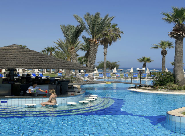 Golden Bay Beach Hotel, Pool Bar,21502