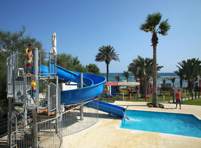 Golden Bay Beach Hotel, Water Slides,21502