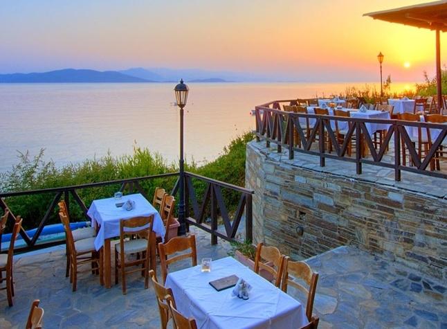 Leda Pelion Hotel, Outdoor restaurant,372