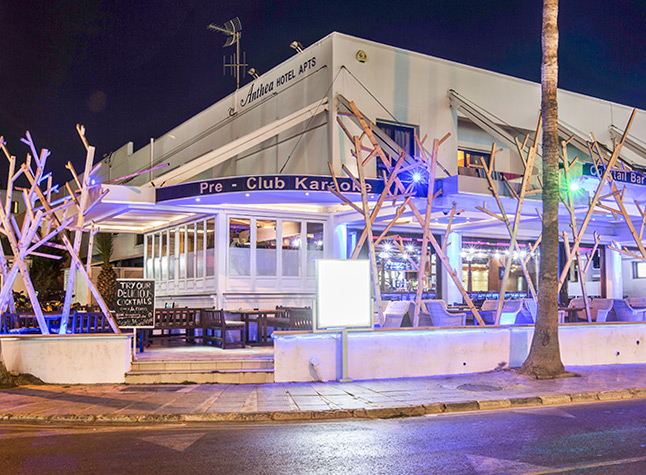 Anthea Hotel Apartments, Entrance and bar,11331
