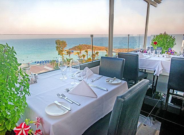 Adams Beach Hotel Glasshouse Lounge Restaurant Outside,21305