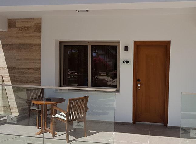 Adams Beach Hotel Queen Suite Door,21305