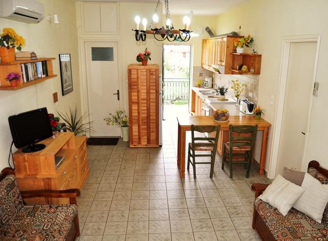 Ilias Apartments, Kitchen Area,19507