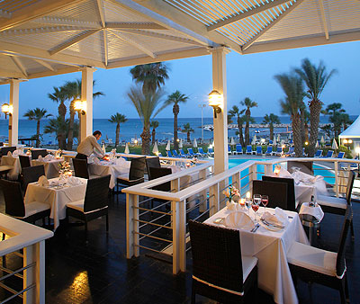 The Golden Bay Beach Hotel, Restaurant, 21502