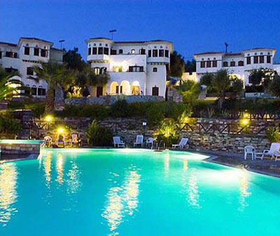 Leda Pelion Hotel, Pool at night, 372