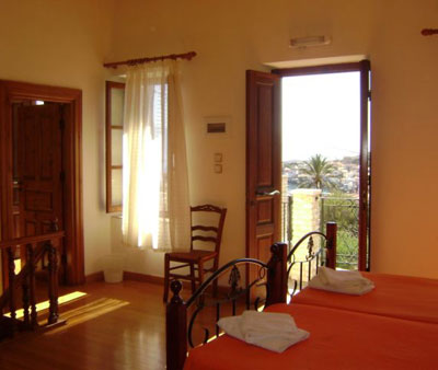 Villa Nikolaos, Twin room with view, 14610