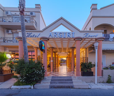 Argiri Hotel and Apartments, Entrance, 15249