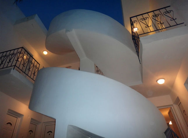 Amfis Apartments Staircase View, 15220
